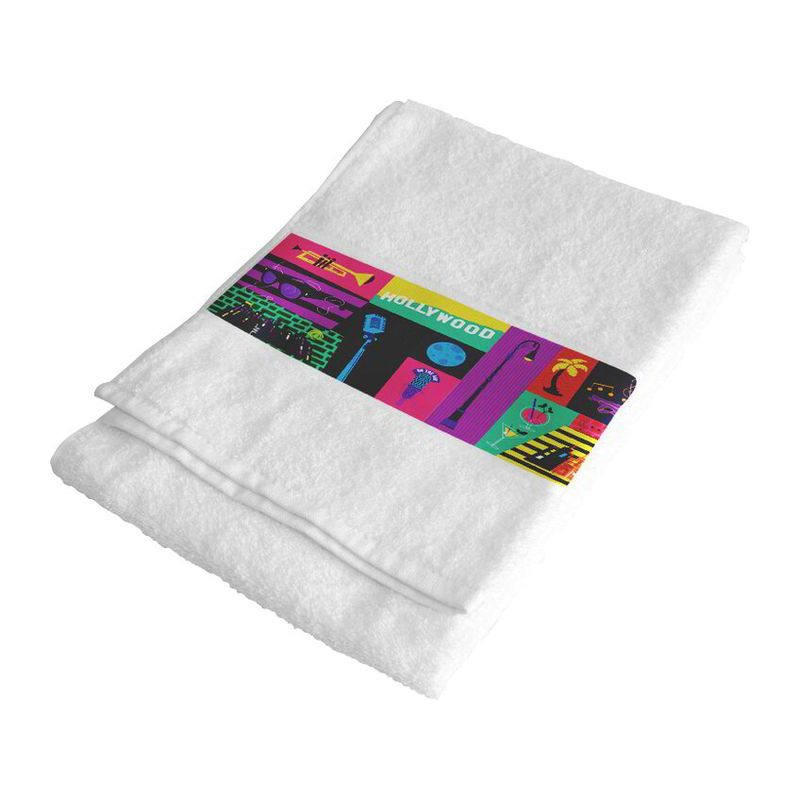Sublimation hand towel 50x100